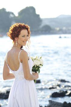 beach wedding in rethymno, crete...