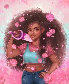 Just some stuff Girls Cartoon Art, Black Girl Cartoon, Cute Art, Black Girl Art, Black Cartoon, Drawings Of Black Girls, Black Girl Aesthetic, Digital Art Girl, Black Love Art
