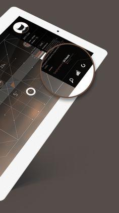 Dashboard Concept by Rodrigo Alberto Cavazos, via Behance