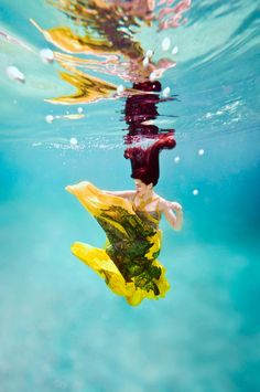Feline Blushs Wonderland Couture Campaign Offers Underwater Imagery by Ilse Moore
