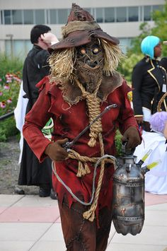 Scarecrow from Batman cosplay