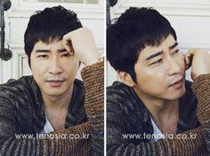 Kang Ji Hwan Interview picture from tenasia