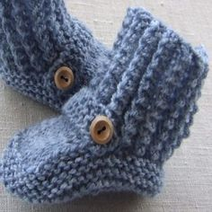 Free Baby Bootie Knitting Pattern- A Favorite Among All Knitters