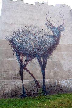 #mural #streetart #Lodz #Poland #ohmydeer