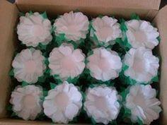 Forminhas de papel de seda...