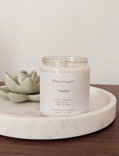 Mare soy candle Soy Candles, Candle Jars, Biologique, Sea Salt, Calming, Delicate, Ocean, Natural, Closet
