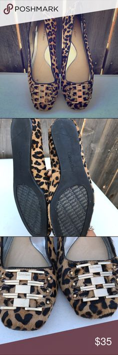 Calvin Klein. Size 7.5 Good condition. Shoes Flats & Loafers