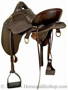 River Plantation Trail Saddle with patented Gel-Cush Seat