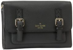 Kate Spade New York Allen Street-Neil  Cross Body,Coal - Perfect for a book and a tablet on a walk.