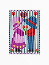 FIRST LOVE~BEADED BANNER PATTERN