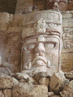Kohunlich Mayan Ruins. Mexico