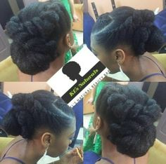 Our Beautiful Brides (and bridesmaids) Slaying Their Natural Tresses! Black Girls Hairstyles, Braided Hairstyles, Wedding Hairstyles, Cool Hairstyles, Natural Hairstyles, Protective Hairstyles, Formal Hairstyles, Protective Styles, Hairstyle Ideas