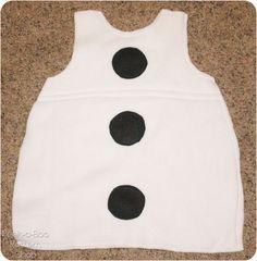 Olaf Inspired Costume Tutorial - Peek-a-Boo Pattern Shop