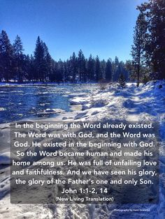 The Word - John 1:1-2, 14