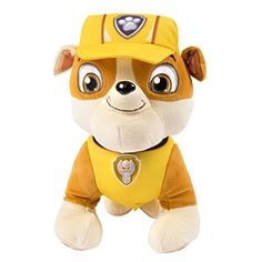 Paw Patrol Deluxe Lights and Sounds Plush - Real Talking Rubble Paw Patrol http://www.amazon.com/dp/B00JBXB1Y6/ref=cm_sw_r_pi_dp_IsfCwb194FRH5