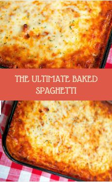 The Simple Dry Spaghetti - cheesy spaghetti topped with Italian cured emollient cheese, meat sauce and mozzarella cheeseflower - SOOOO oppo. Healthy Cupcakes, Baking Cupcakes, Gourmet Recipes, Cooking Recipes, Healthy Recipes, Spaghetti Recipes, Pasta Recipes, Baked Spaghetti And Meatballs, Baked Spagetti