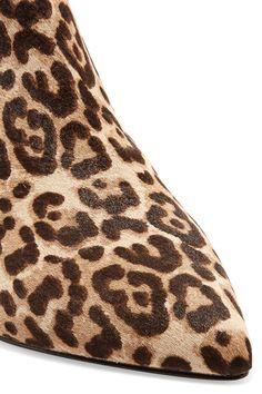 Sam Edelman - Kinzey leopard-print calf hair ankle boots 5fe2f162314fa