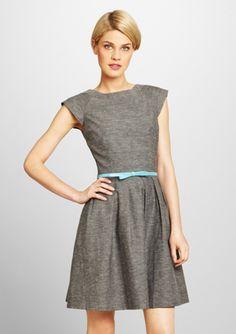 AMELIA Menswear-Inspired Dress