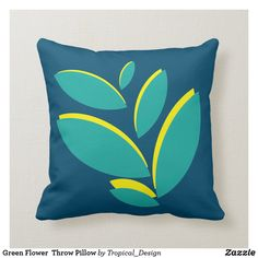 Floral Pillows, Diy Pillows, Throw Cushions, Custom Pillows, Decorative Pillows, Tropical Design, Cozy Bed, Bed Styling, Poufs