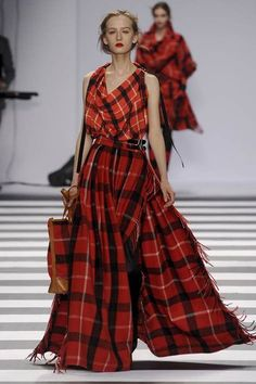 beautiful Tartan fashion.