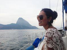 get trendy; renata ferraz; fashion looks; street style; sao paulo; bloggers; brazilian fashion; velejar; pao de acucar; rio de janeiro; brazil; lace; rounded sunglasses