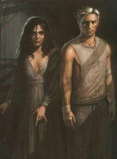 awesome Pietro and Wanda fanart