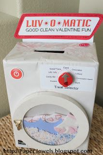 Paper Jewels and other Crafty Gems: More Valentine Boxes Maybe make this for bubba's school