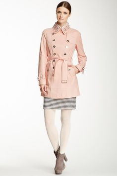 Studded Collar Trench Coat by Sam Edelman on @HauteLook