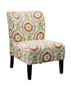 Honnally Accent Chair Floral #homesweethome #accentchair