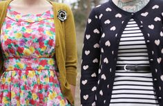 The Dainty Squid: what we wore; black, white and colorful all over