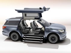 Lincoln's Yacht-Sized Concept SUV Has a Closet and Staircase | WIRED
