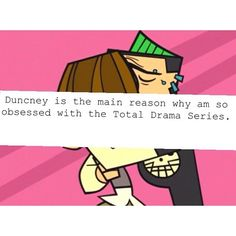 Total Drama Island / TDI | Duncney - Duncan x Courtney | The Delinquent & The Type A | cute cartoon couple | OTP
