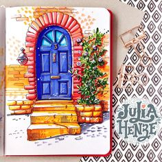 Happy Friday everyone! The weekend is coming ❤️Day 11/31 of #inktober #inktober2017 #urbansketching #urbansketch #ar_sketch #architecturalsketch #fridaydrawing #weekendiscoming #door #copicmarker #copicsketch #sketcheveryday #art_we_inspire #topcreator #architecture #archsketching #doordrawing #art #sketchbook #sketchaday #dailysketch #doorsketch #doorscollection #doorsandwindows #world_doorsandwindows #artjournal #traveljournal #doors_aroundtheworld #igw_doors #julia_henze
