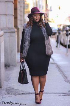 Trendy Curvy - Plus Size Fashion at Diyanu Source by acelinehuff fashion curvy Plus Size Fashion For Women, Black Women Fashion, Plus Size Women, Womens Fashion, Fashion Trends, Curvy Girl Fashion, Look Fashion, Autumn Fashion, Plus Size Looks