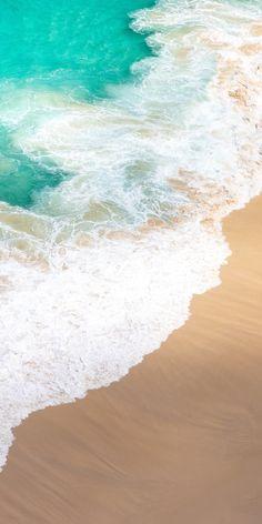 The Beach Original iphone Wallpaper Beach Phone Wallpaper, Apple Wallpaper Iphone, Summer Wallpaper, Nature Wallpaper, Wallpaper Backgrounds, Most Beautiful Wallpaper, Strand, Cute Wallpapers, Background Images