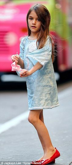 Suri Cruise -- i am truly a fun of this baby girl.. #fangirl