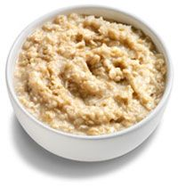 Oatmeal -- it makes the perfect breakfast. High in fiber, controls blood sugar, low calorie and uber filling, and a good source of protein