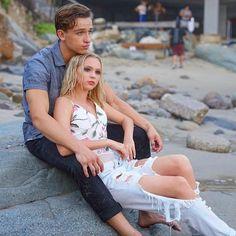 Jordyn Jones and partner for 'Summer' Beau Minniear on set #BTS Reload Management #jordynjones #actress #model #dancer #singer #designer https://www.jordynonline.com