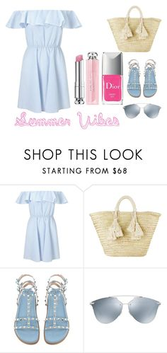 """""""Summer Vibes"""" by dilettabrizzi on Polyvore featuring moda, Miss Selfridge, Giselle e Christian Dior"""