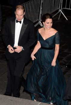 9 Dec 2014:  The Duke and Duchess of Cambridge attend St. Andrews 600th anniversary dinner at the Metropolitan Museum of Art in NYC