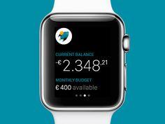 BudJet for Apple Watch