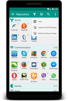 Glextor App Mgr & Organizer v5.5.3.388 [Patched] Requirements: 2.3+ Overview: An application organizer. In addition. it provides you with the necessary tools and options for managing your applications      It is a better alternative to Android default application drawer. It will help...