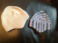 http://www.knittingparadise.com/t-322031-1.html Beige in DK, Stripe in 4 ply sock yarn & 3.5 mm needles