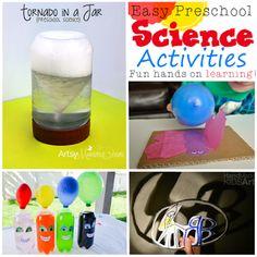 Easy Preschool Science Activities