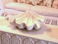 Making a Giant Clam Sea Shell-cute newborn prop idea