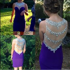 Charming Prom Dress, Beaded Prom Dress,Short Prom Gown,Sexy