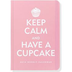 Keep Calm and Have a Cupcake 2014 Planner