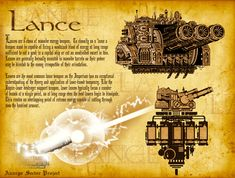 Lance Turret by *The-First-Magelord on deviantART