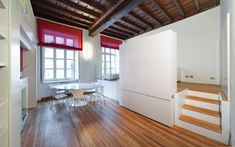 300 sqft  Living/Dining/MBedroom in House T | POINT Architecture