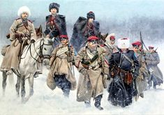General Kornilov's troops advancing, Russian Civil War- by Zvonimir Grbasic Military Diorama, Military Art, Military History, Art History, Women In History, Ancient History, Ww1 Art, Civil War Art, Crimean War